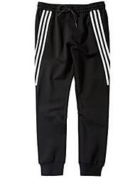 Hommes Droite Joggings Pantalon,Vintage Décontracté / Quotidien Couleur Pleine Taille Normale Cordon Coton Micro-élastique Sangle