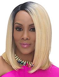 curta sintética loira negro ombre perucas peruca de cabelo barato natural para as mulheres negras