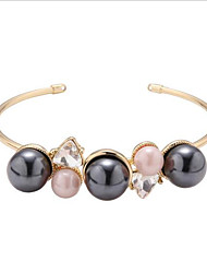 24 carat gold plated black pearl bracelet openings