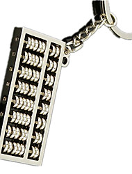Key Chain Leisure Hobby Key Chain Square Metal Silver For Boys