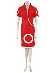 Inspiré par Naruto Cosplay Anime Costumes de cosplay Costumes Cosplay Couleur Pleine Cheongsam / Shorts