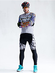 2016 Ropa Maillot Ciclismo Cycling Clothing USA Statue of Liberty Style Long Sleeve Mtb Mountain Bike Jersey Breathable Cycling Jersey