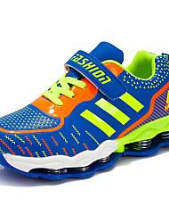 Para Meninos-Tênis-Conforto-Rasteiro-Azul Roxo Azul Real-Couro Ecológico-Casual Para Esporte