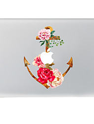 Flowers Decorative Skin Sticker for MacBook Air/Pro/Pro with Retina