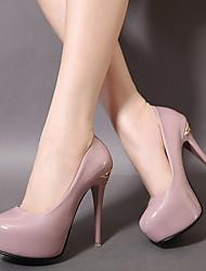 Women's Heels Platform PU Party & Evening Platform Black Purple White