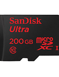 SanDisk 200GB TF carte Micro SD Card carte mémoire UHS-I U1 Class10 Ultra