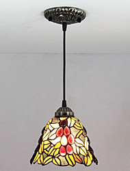 25W Pendant Light ,  Modern/Contemporary / Retro Painting Feature for Mini Style Metal Bedroom / Entry