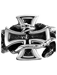 Men Jewelry Rings Biker Ring 316L Stainless Steel Jewelry Men Rings Openwork Snakes Crusader Punk Rings For Women