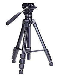 Yunteng Vt - 8008 Large Tripod  Aluminium With  Alloy Black For Micro Single Digital Slr Camera