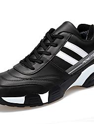 Femme-Décontracté / Sport-Noir / BleuConfort-Chaussures d'Athlétisme-Cuir