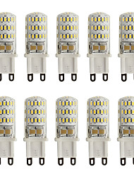 3W G9 LED à Double Broches T 45 SMD 3014 260 lm Blanc Chaud Blanc Froid Décorative AC 100-240 V 10 pièces