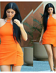 Kylie Jenner Fashion Wig Long Straight Black Centre Parting Heat Resistant Synthetic Wigs High Quality Cheap Wigs For Black Women Daily Wearing