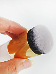 1pcs Foundation Makeup Brush Nylon Synthetic Hair Professional Limits bacteria Wood Face Others