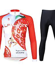 Ilpaladin Women Long Sleeve Cycling Jerseys Suit CT735