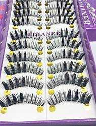 Eyelashes lash Full Strip Lashes Eyes Thick Lifted lashes Handmade Fiber Others 0.10mm 12mm