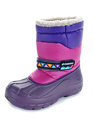 moonstar Boys / Girls Snow sports Mid-Calf Boots Winter Anti-Slip / Waterproof / Breathable Shoes Purple / Brown