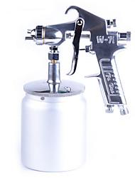 71g 71s móveis látex tinta spray pintura pintar alta atomização pistola pot um pulverizador pneumático