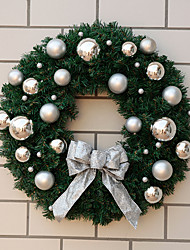 Christmas Ball Decorated Garland 50cm