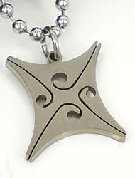 316l colar de pingente de aço inoxidável dos homens do vintage