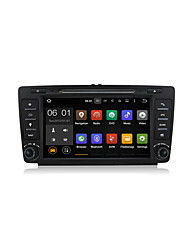 8 Inch Android 5.1 Car DVD GPS Player Multimedia System Wifi DAB for Skoda Octavia 2009-2012 DU8026LT