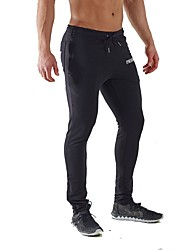 Yoga Pants Bottoms Breathable / Comfortable Natural Inelastic Sports Wear Gray / Black Men's Sports Yoga / Pilates / Exercise & Fitness
