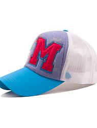 Korean Fashion Hat M Letter Net Leisure Baseball Cap