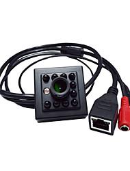 720p Night Vision 10pcs 940nm levou mini-ip suporte de câmera câmera de rede ONVIF 2.0 Android e iOS p2p móvel