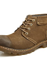 Men's Boots Spring / Fall / Winter Comfort Suede Outdoor / Party & Evening / Casual Coffee / Khaki