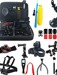 Accessories For GoPro,Protective Case Monopod Tripod Case/Bags Screw Buoy Suction Cup Adhesive Mounts Straps Clip Hand Grips/Finger
