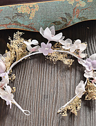 Women's Fabric Headpiece-Wedding / Special Occasion / Casual Wreaths 1 Piece