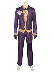 fantasias de cosplay / agam cosplay asilo traje do palhaço / trajes de Halloween feitos sob medida