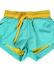 Corrida Shorts Mulheres Respirável / Macio / Confortável Náilon Chinês Ioga / Corridas / Esportes Relaxantes / Corrida Stretchy Delgado