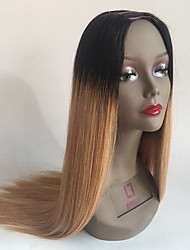 T1b/27 Ombre U Part Wig Silky Straight Brazilian Virgin Hair Middle Part U Part Human Hair Wigs
