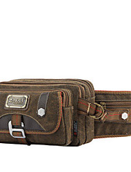 10 L Belt Pouch/Belt Bag Breathable Coffee
