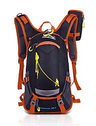 Unisex Bags All Seasons Nylon Backpack with for Sports Outdoor Orange Yellow Red Green Blue