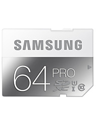 Samsung 64 Гб SD-карта карта памяти UHS-I U3 Class10 Pro