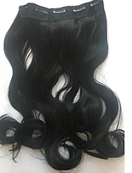 Lolita Wigs Classic/Traditional Lolita Lolita Medium / Curly Black Lolita Wig 50 CM Cosplay Wigs Solid Wig For Women