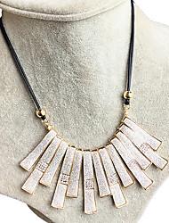 Women's Collar Necklace Rhinestone Rhinestone Geometric Geometric Fashion Golden Jewelry Wedding Party Daily 1pc