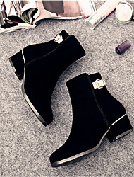 MujerOthers-Botas-Casual-Vellón-Negro