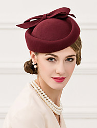 Women's Wool Headpiece-Wedding Special Occasion Casual Hats 1 Piece