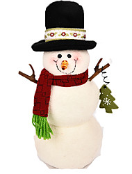 Christmas Decorations Snowman Textile