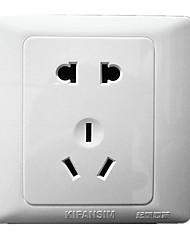 20V Elegant White Wall Switch Socket Panel