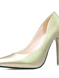 Women's Shoes 4.14 Inch High Heel Slip-on Pumps Pointed Toe Stiletto Heels Party/Dress Shoes