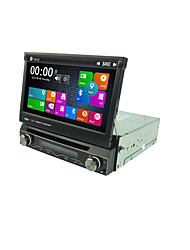 7 Inch 1 Din Car DVD Player Multimedia System Win8 UI MTK3360 GPS Sat Navi EX-3G EX-TV Max.1080P Universal DJ7088