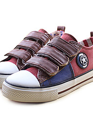 Boy's Sneakers Fall Comfort Canvas Casual Brown