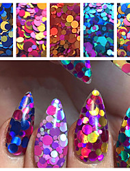 Holographic Glitter Mix Dots  1 TSP  Gel Nail Art & Acrylic  Nail Design