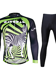 Ilpaladin Sport Men Long Sleeve Cycling Jerseys Suit CT727