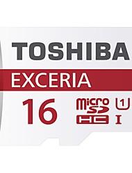 uhs-1 המקורי טושיבה microSDHC 16GB exceria 48m כרטיס זיכרון / s