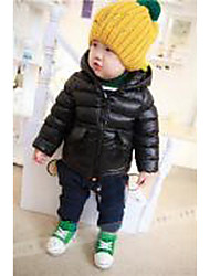 Boy Casual/Daily / Sports Solid / Animal Print Down & Cotton PaddedCotton / Spandex Cotton  Polyester Jacquard Winter  without any accessory
