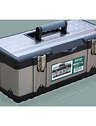 Stainless Steel Iron Plastic Household Toolbox